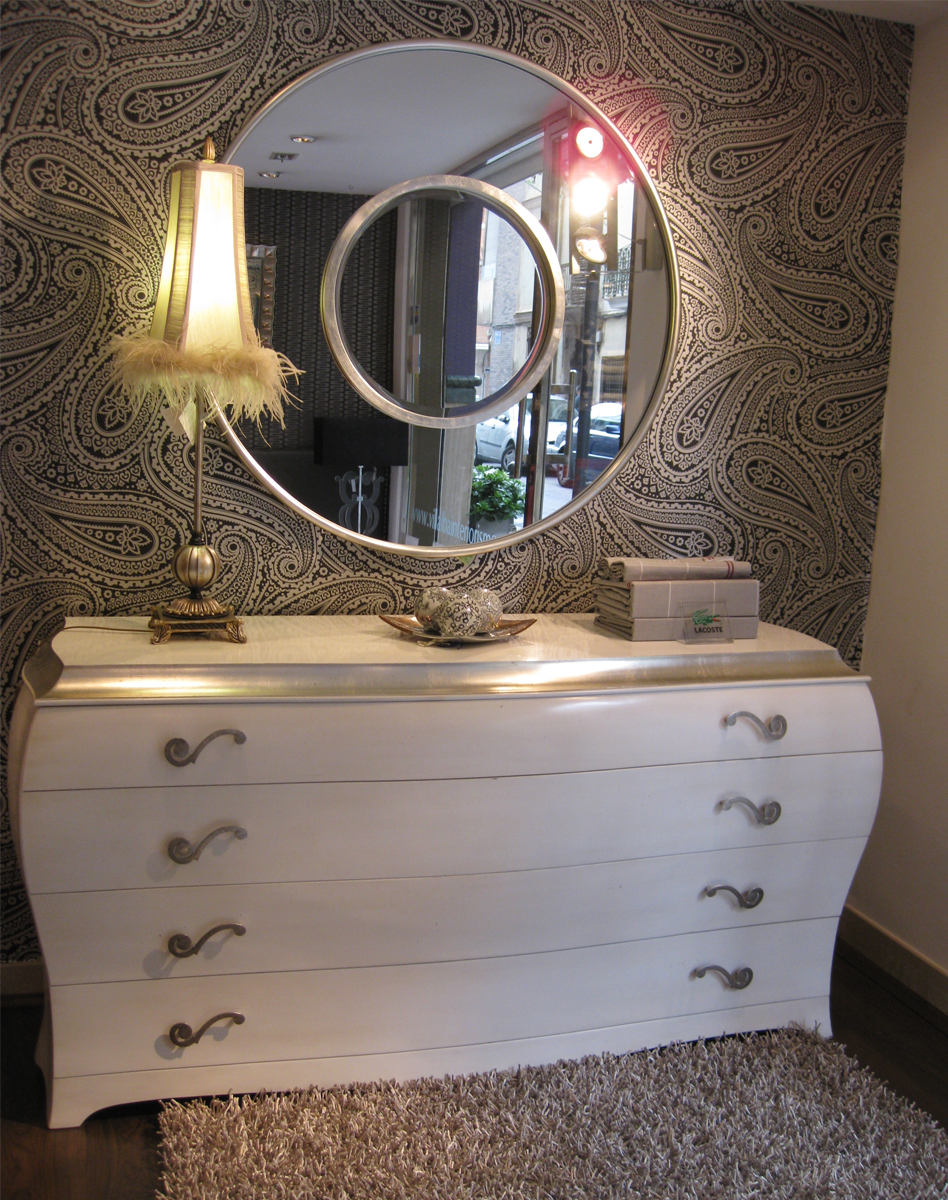 Cada espejo para cada estancia villalba interiorismo - Espejos para hall de entrada ...