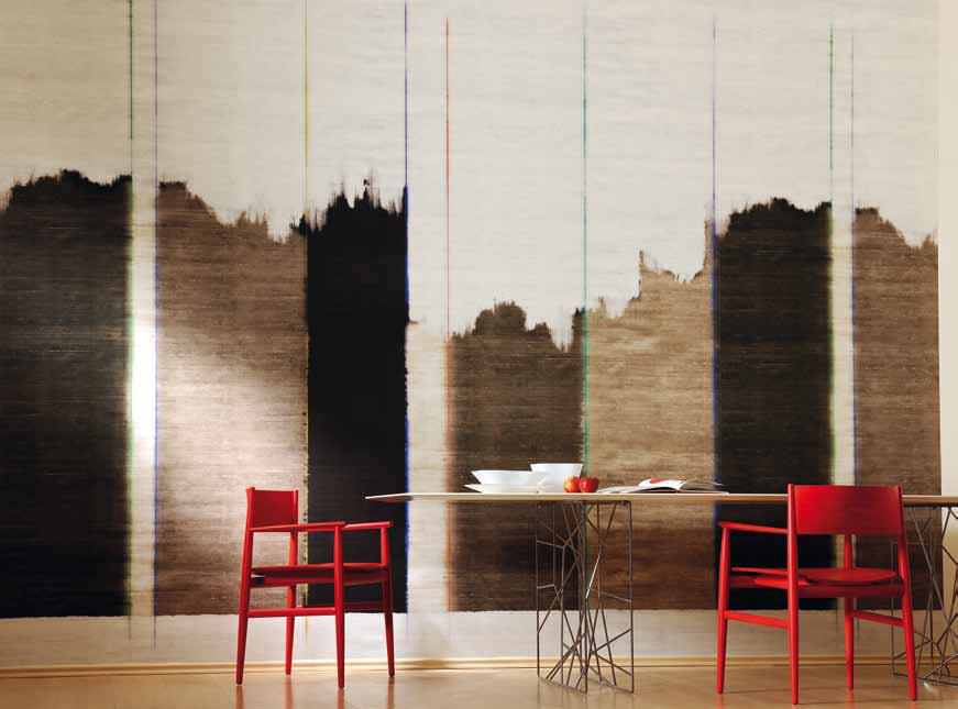 Papeles con estilo villalba interiorismo - Papeles pintados salon ...