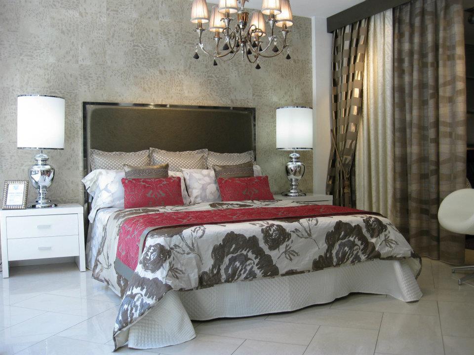 Cabezales para el dormitorio villalba interiorismo - Cojines para cabeceros de cama ...