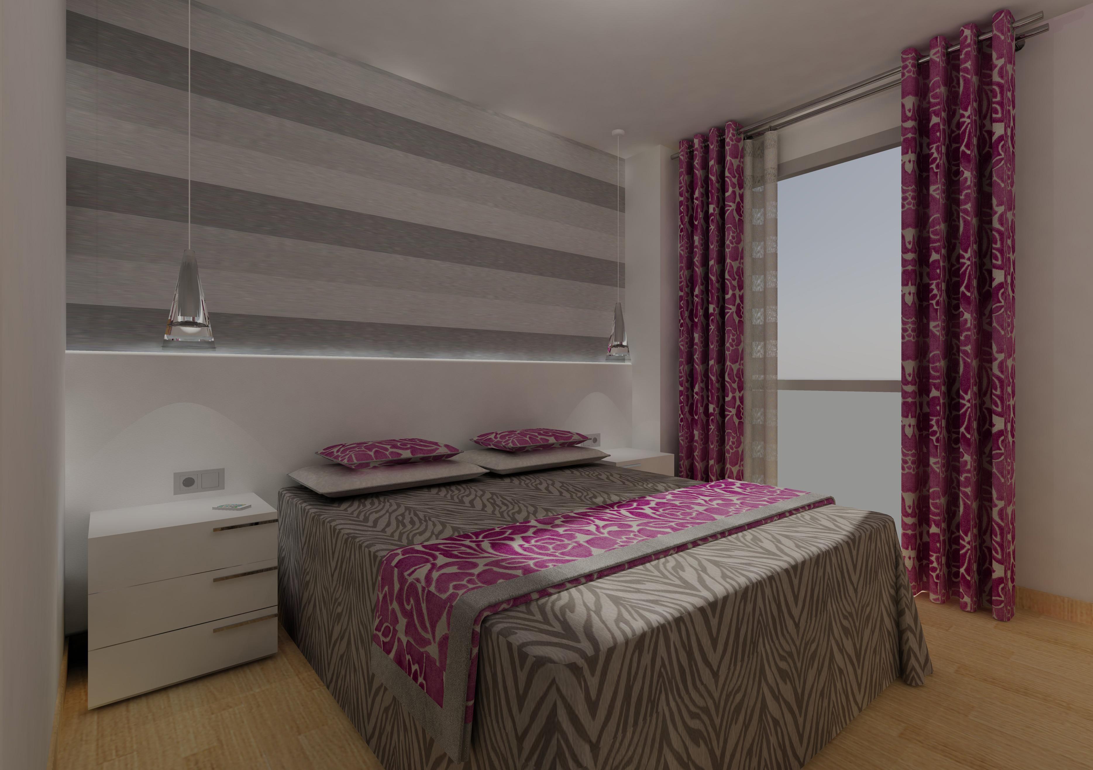 C mo vestir la ventana del dormitorio villalba - Tipos de cortinas para dormitorio ...