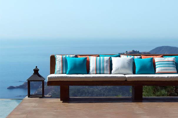 Haz un cambio a tu terraza cambia los cojines villalba - Cojines para exterior ...