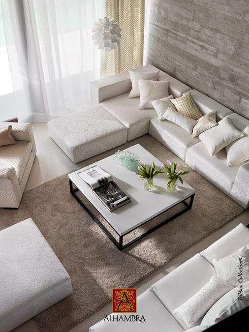Decoraci n en blanco villalba interiorismo for Paredes blanco roto