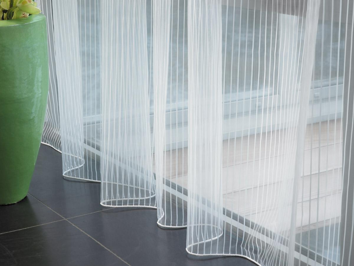 Visillos para el verano villalba interiorismo for Cortinas y visillos salon