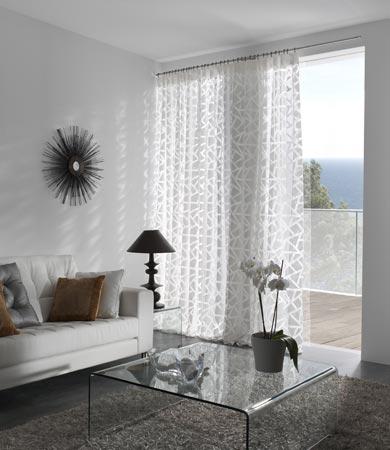 Visillos para el verano villalba interiorismo for Visillos para salon rustico