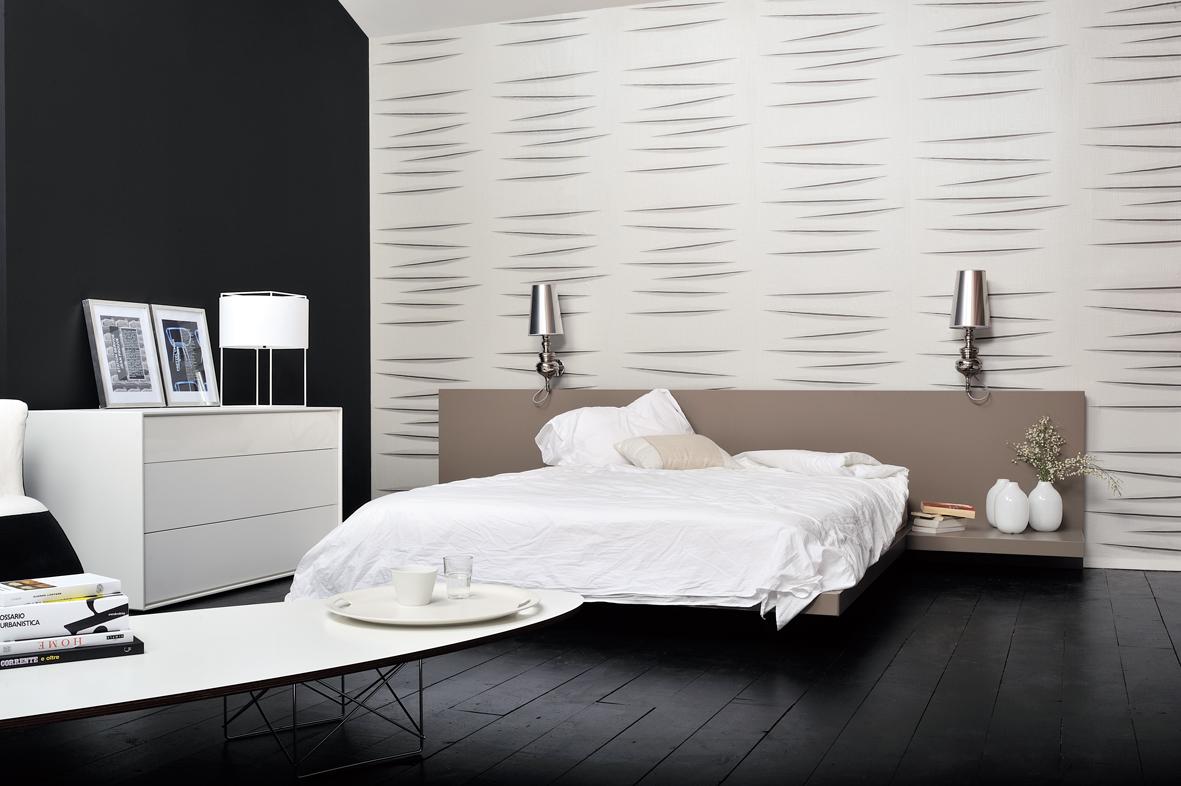 Habitaci n con apliques villalba interiorismo villalba - Apliques pared dormitorio ...