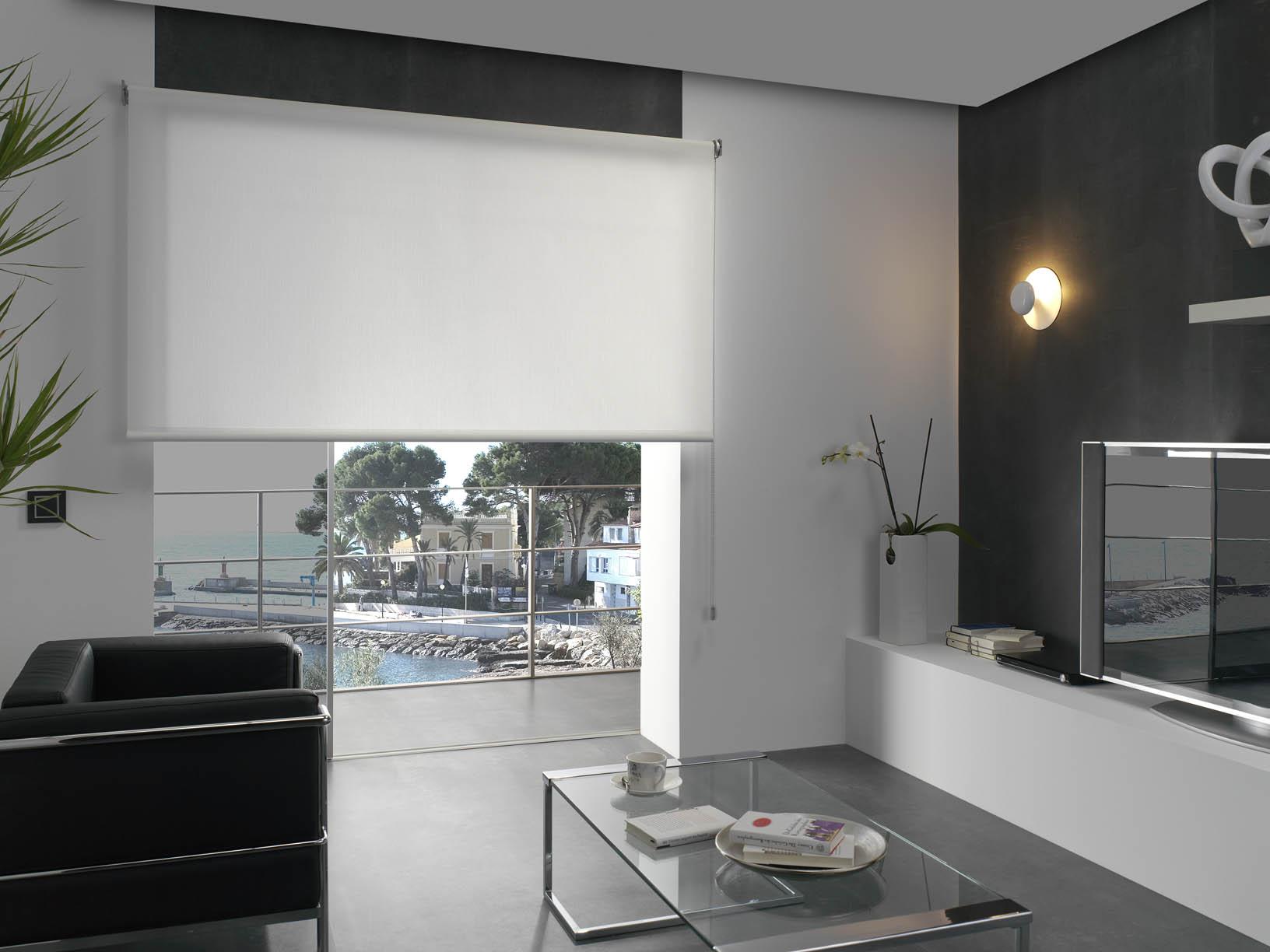 Lo que debes saber de las cortinas enrollables villalba - Villalba interiorismo ...