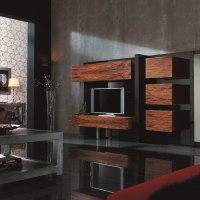 Cómo decorar el salón con muebles lacados