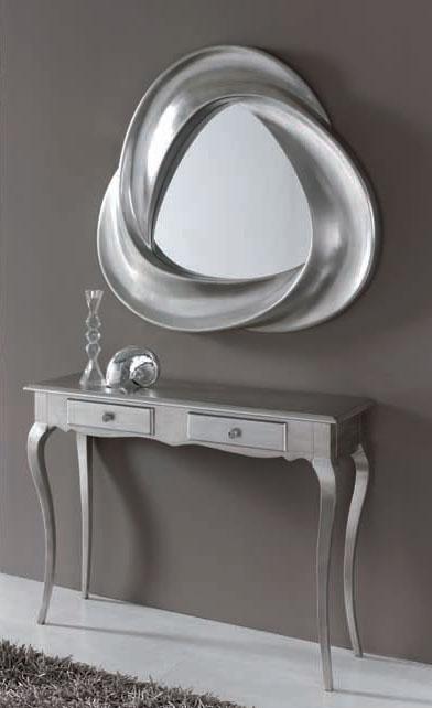C mo decorar un recibidor villalba interiorismo for Espejo de pared blanco