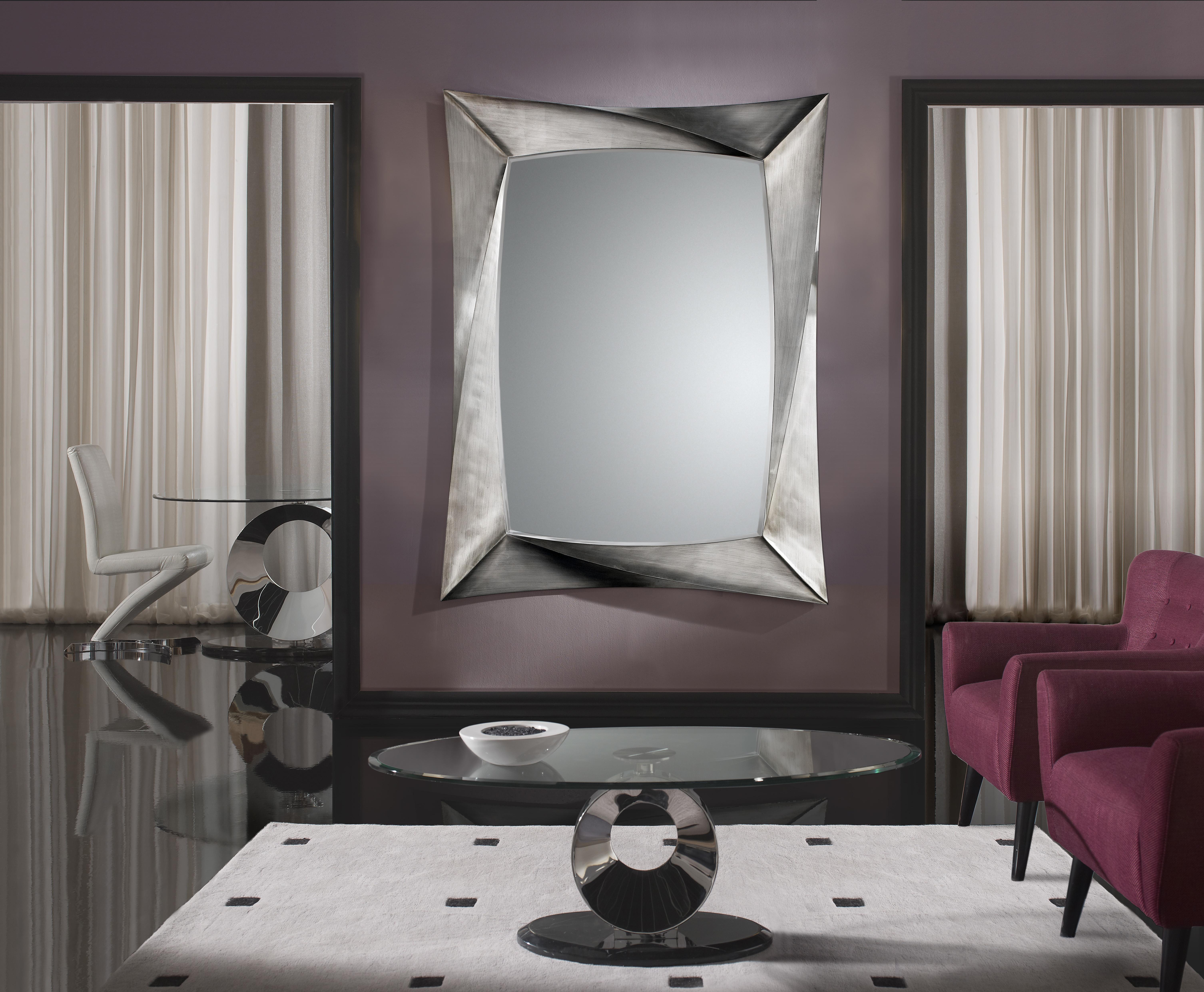 Espejos que atraen todas las miradas villalba interiorismo for Espejos plateados para salon