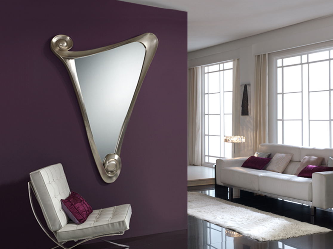Espejos que atraen todas las miradas villalba interiorismo - Formas de espejos ...