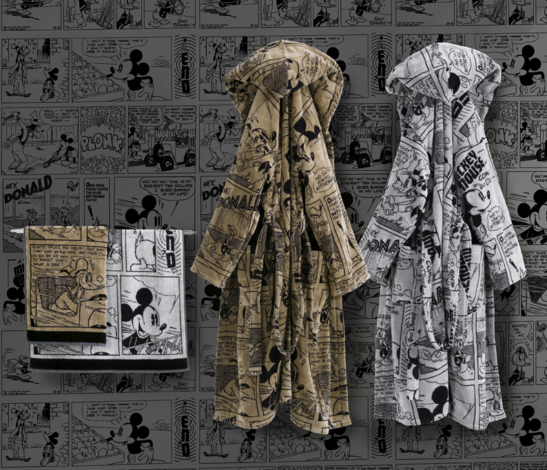 Juego toallas y albornoz Disney Carrara - Villalba Interiorismo
