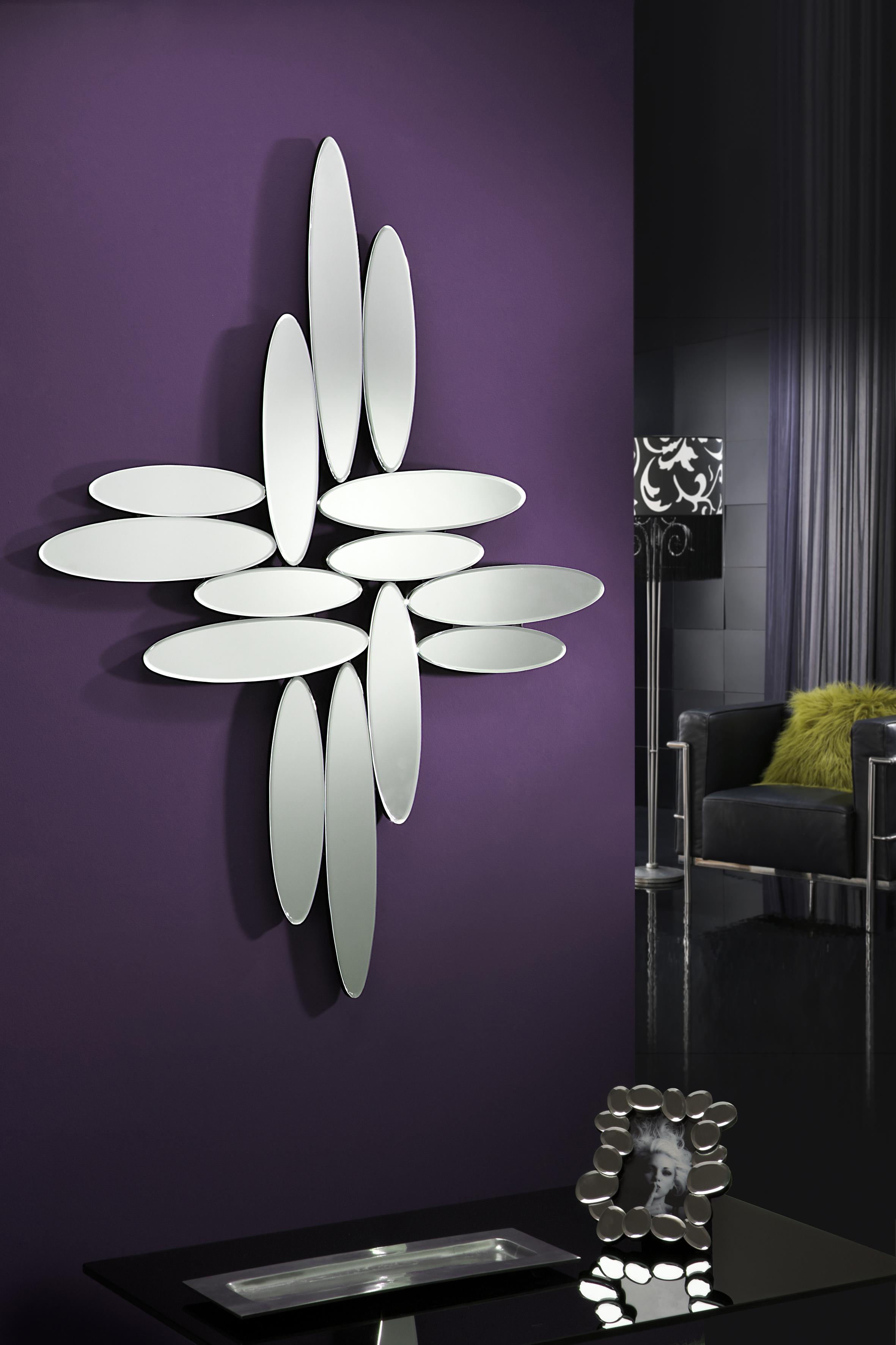 Crea ambientes modernos con espejos de cristal villalba Espejos pequenos pared