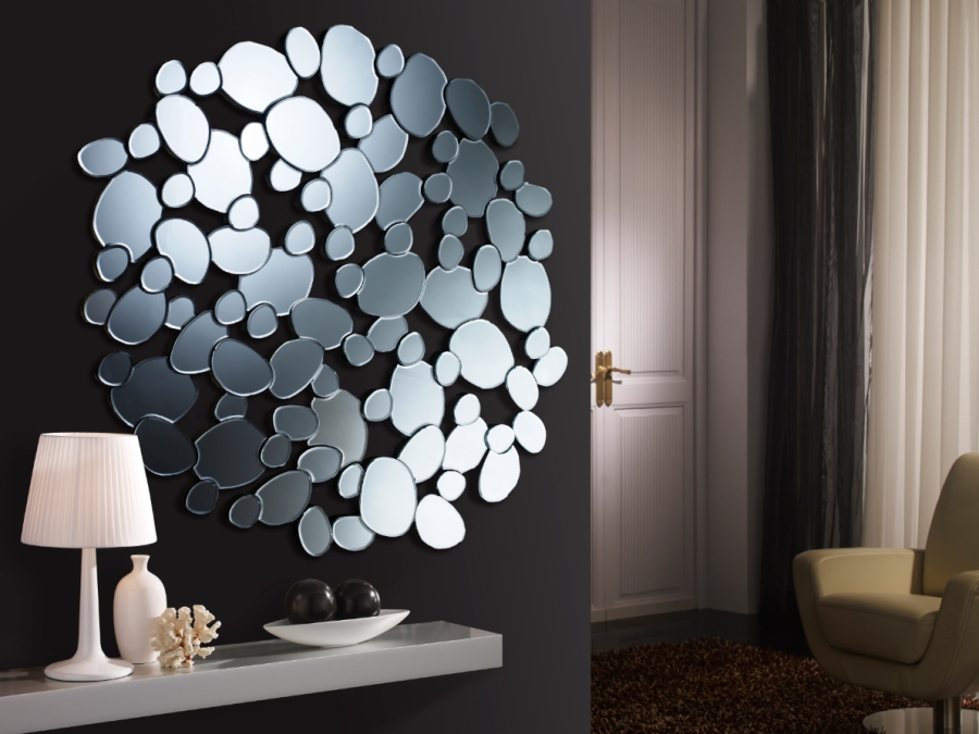 Espejo moderno de cristal 5 - Villalba Interiorismo
