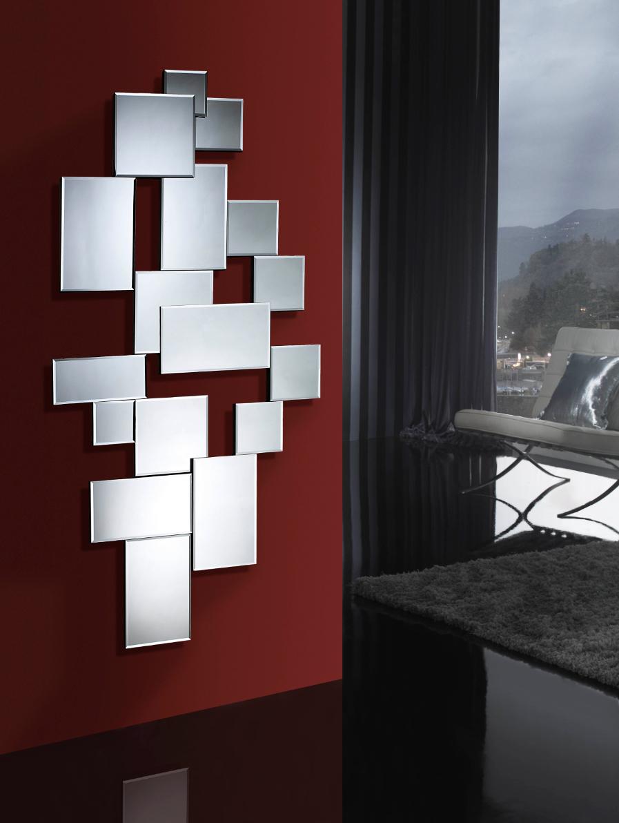 Crea ambientes modernos con espejos de cristal villalba for Espejos plateados modernos
