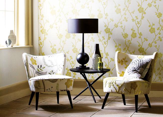 Sillones con lámpara - Villalba Interiorismo
