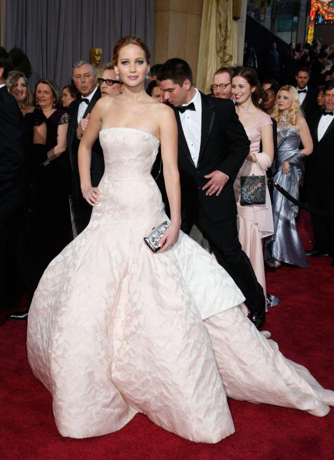 Jennifer Lawrence en los Oscar 2013 - Villalba Interiorismo