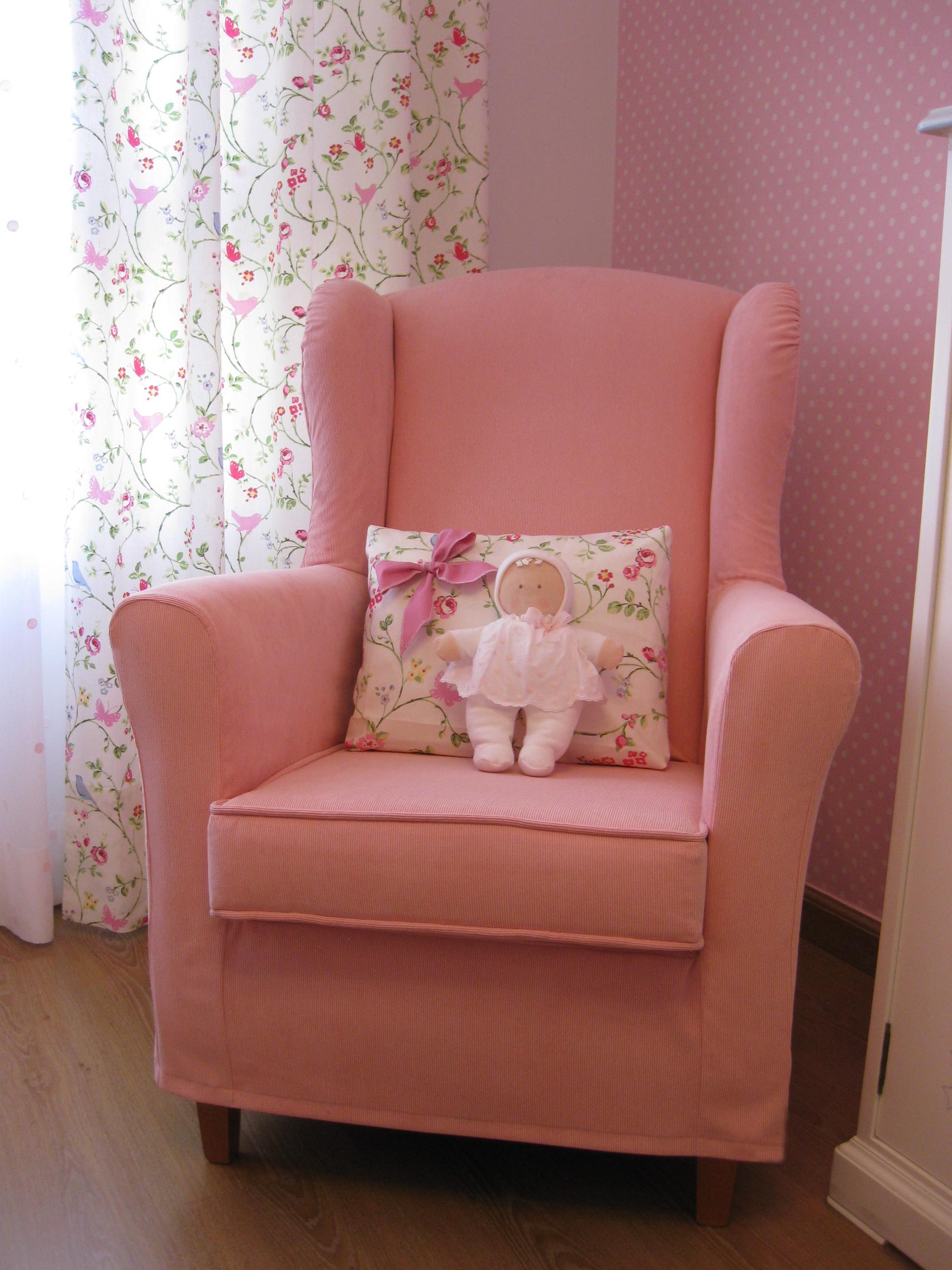 La preciosa habitaci n de claudia villalba interiorismo for Sillones para dormitorios baratos