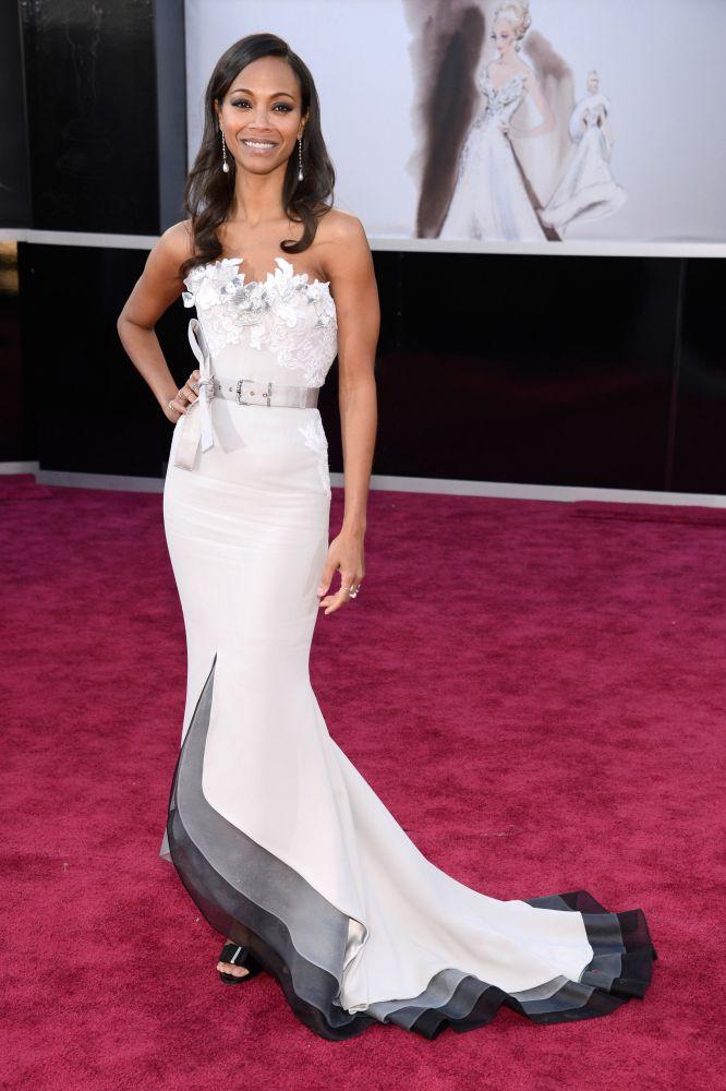 Zoe Saldana en los Oscar 2013 - Villalba Interiorismo
