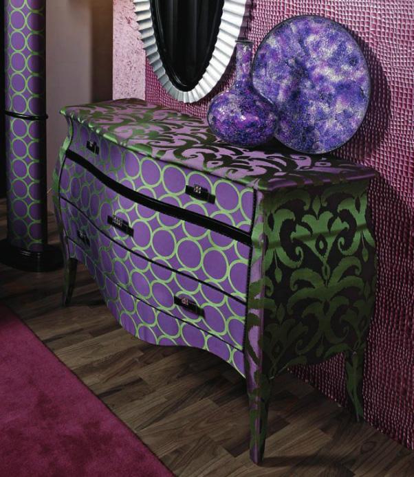 Cómoda tapizada (2) - Villalba Interiorismo