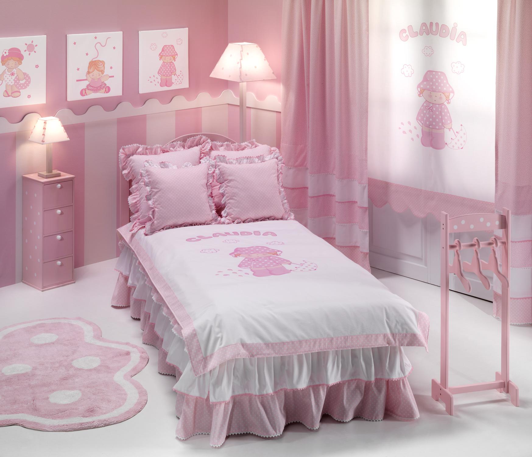 Habitaciones personalizadas para los m s peques villalba for Camas con cortinas