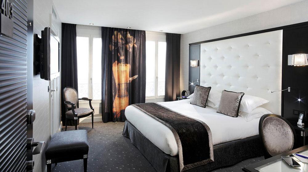 C mo decorar el dormitorio con ideas inspiradas en el for Ver habitaciones de hoteles