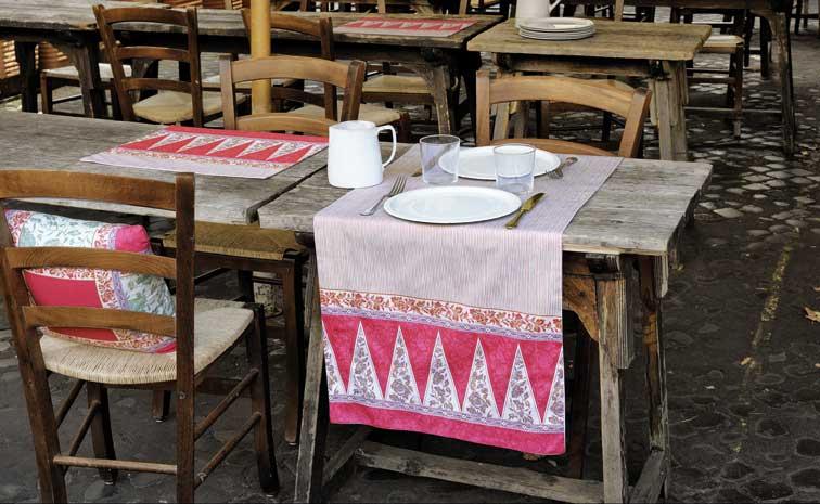 Camino de mesa Lampung de Bassetti - Villalba Interiorismo
