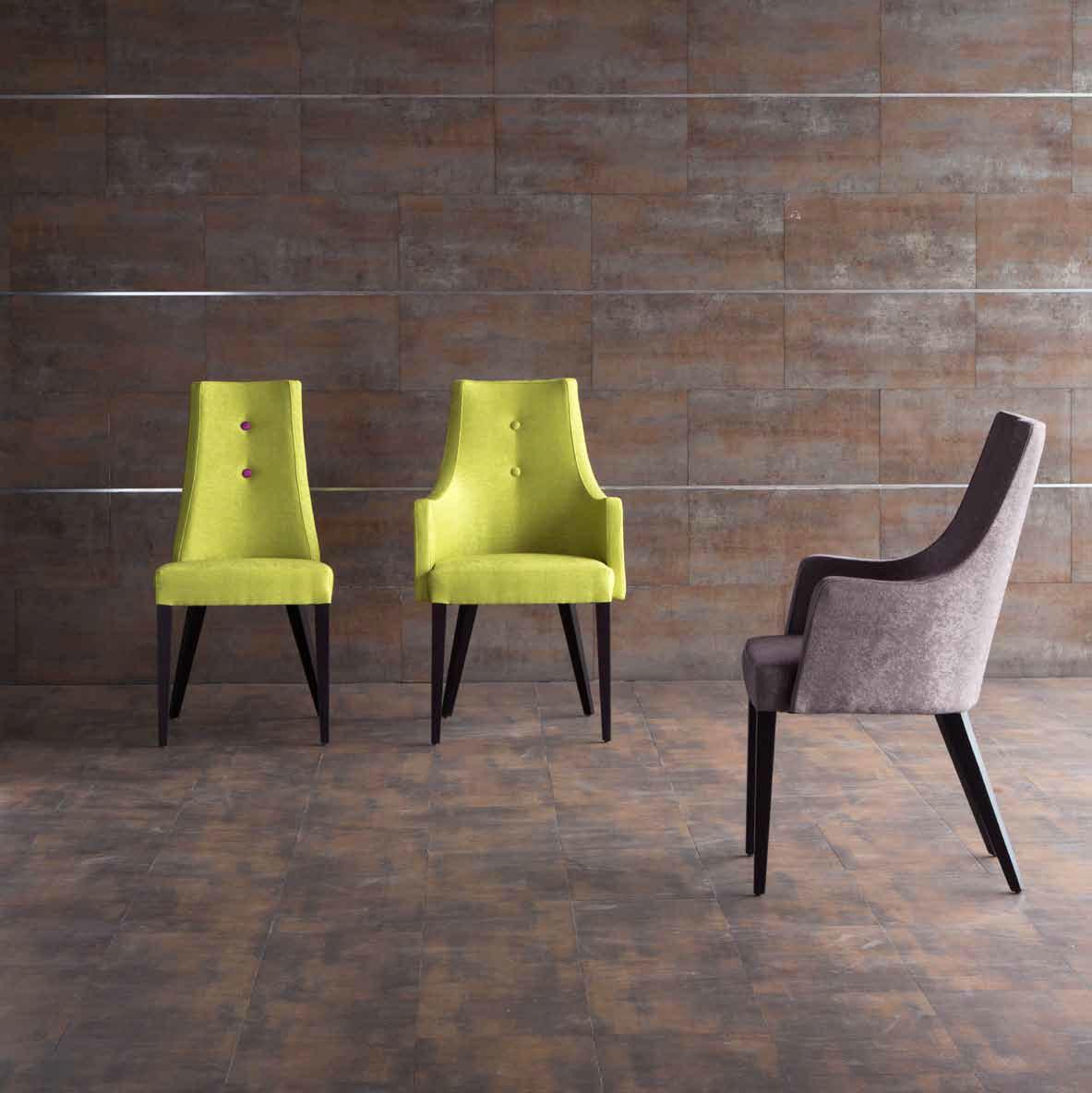 Una silla tapizada muy original villalba interiorismo for Sillas tipo sillon