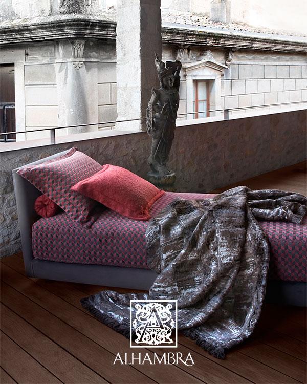 Chaise longue tapicería de Alhambra - Villalba Interiorismo