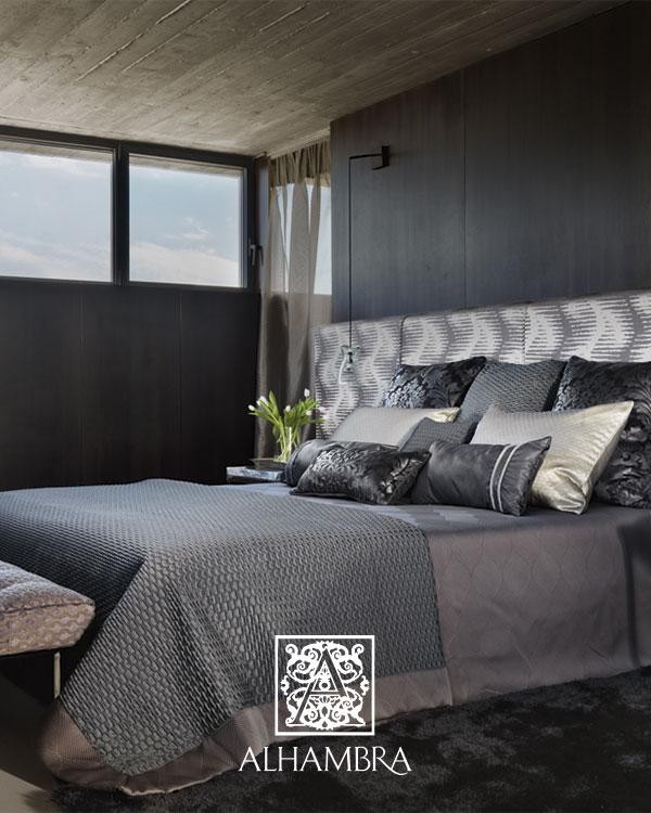 Cojines para la cama - Villalba Interiorismo (7)