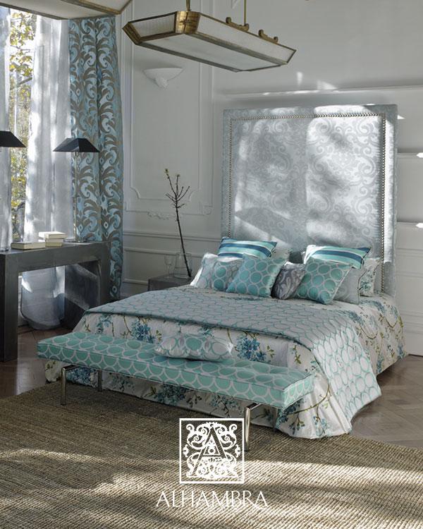 Cojines para la cama - Villalba Interiorismo