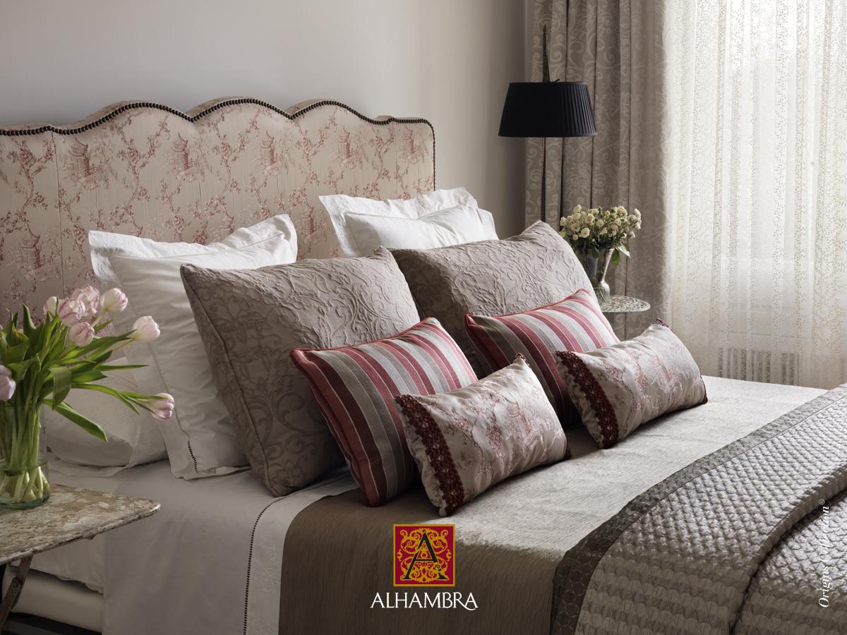 Consejos para colocar cojines en tu cama villalba - Cortinas para dormitorio matrimonio fotos ...