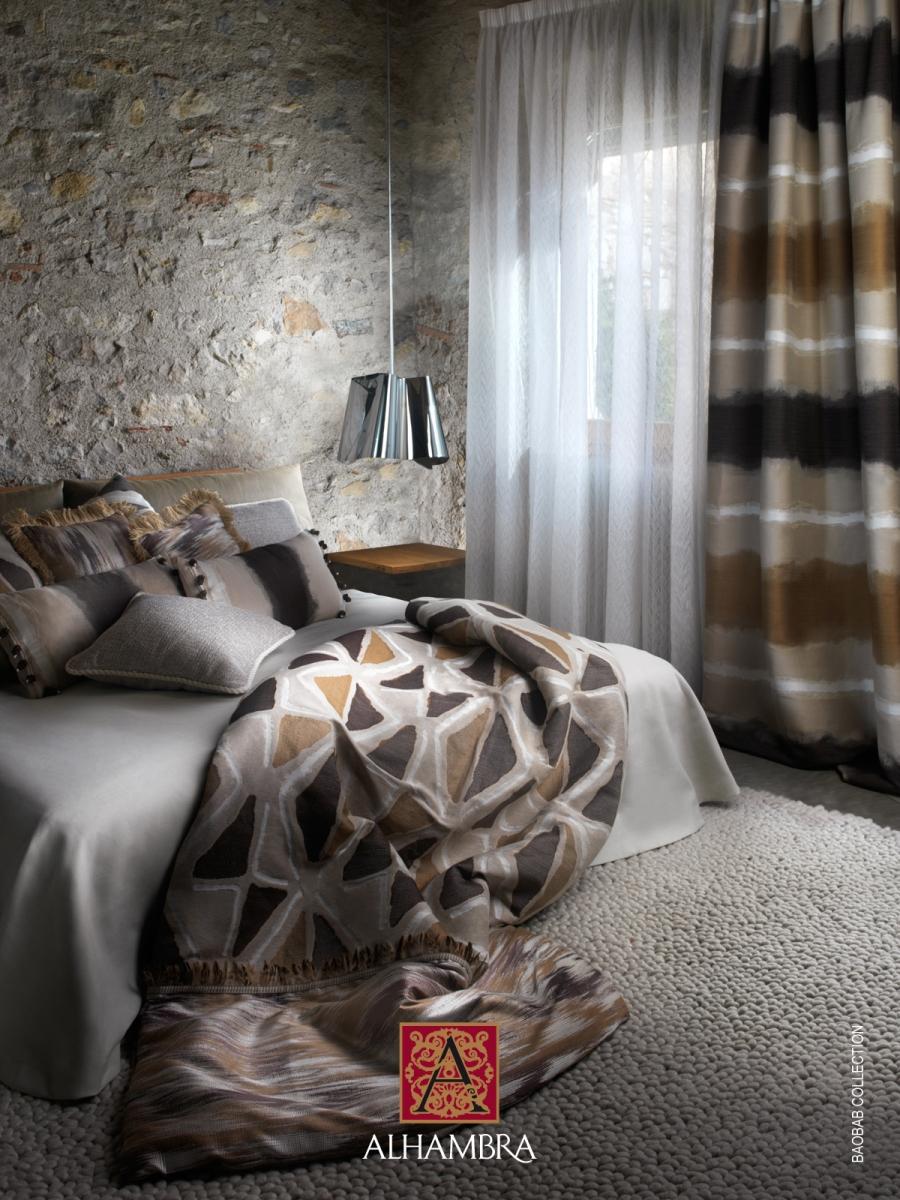 Dormitorio colección Baobab de Alhambra - Villalba Interiorismo