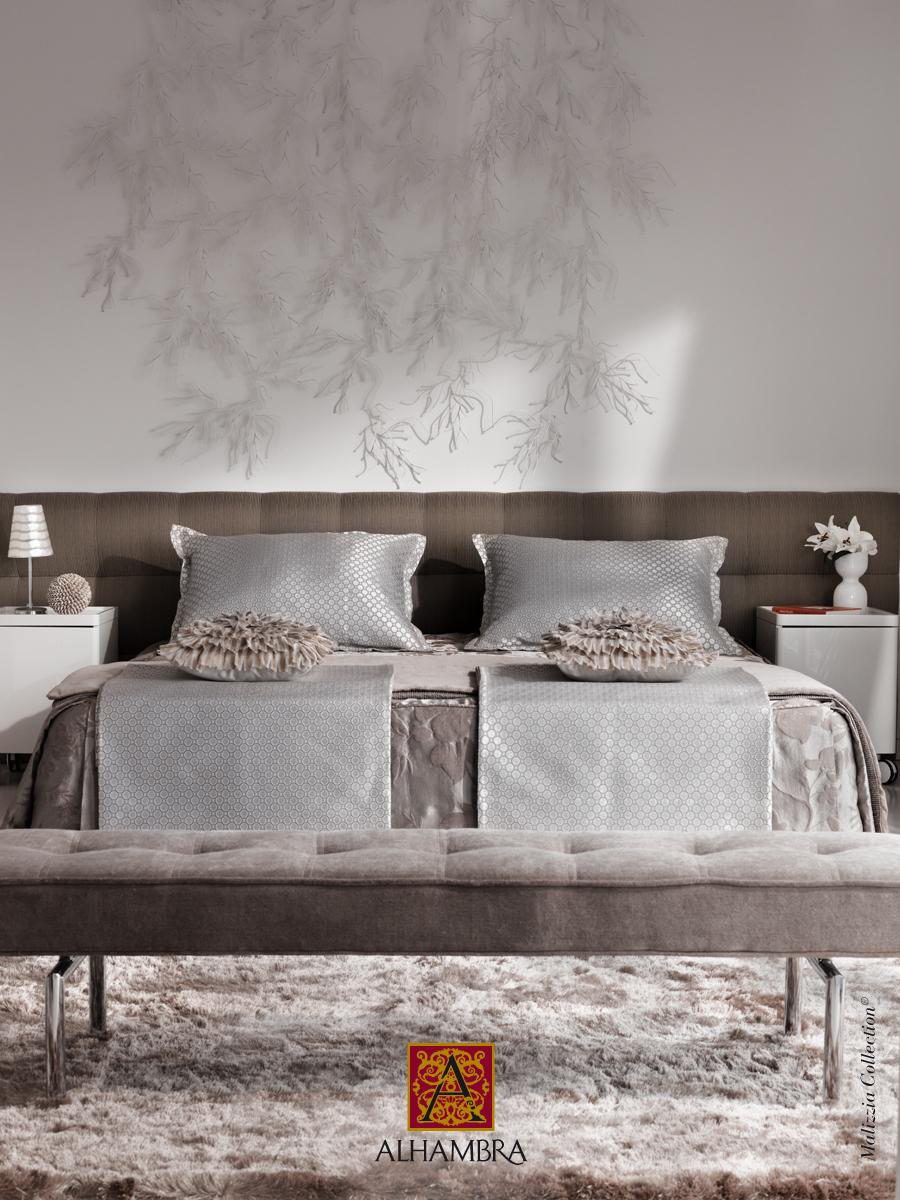 Dormitorio simétrico - Villalba Interiorismo