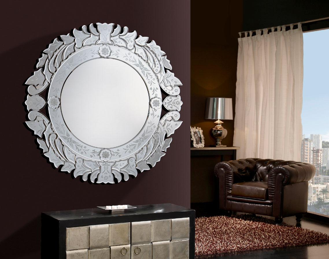 Espejos venecianos piezas decorativas villalba interiorismo for Espejos venecianos