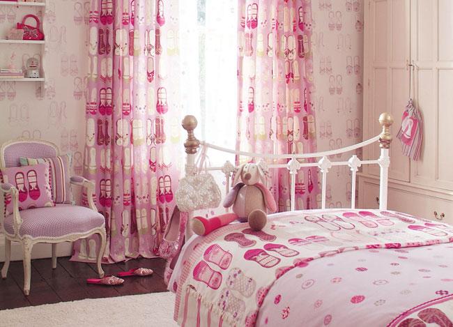 Habitación de niñas coordinada - Villalba Interiorismo