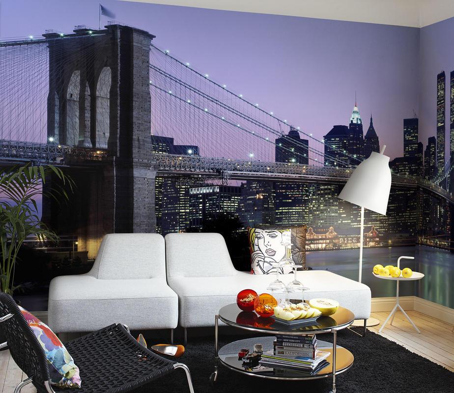 Papeles pintados urbanos villalba interiorismo for Papel pintado paisajes