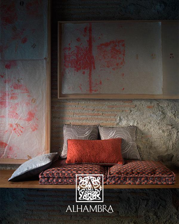Telas colección Urban Chic de Alhambra - Villalba Interiorismo