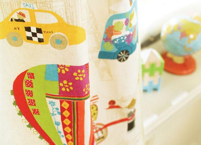 Cortina para habitación de niños - Villaba Interiorismo