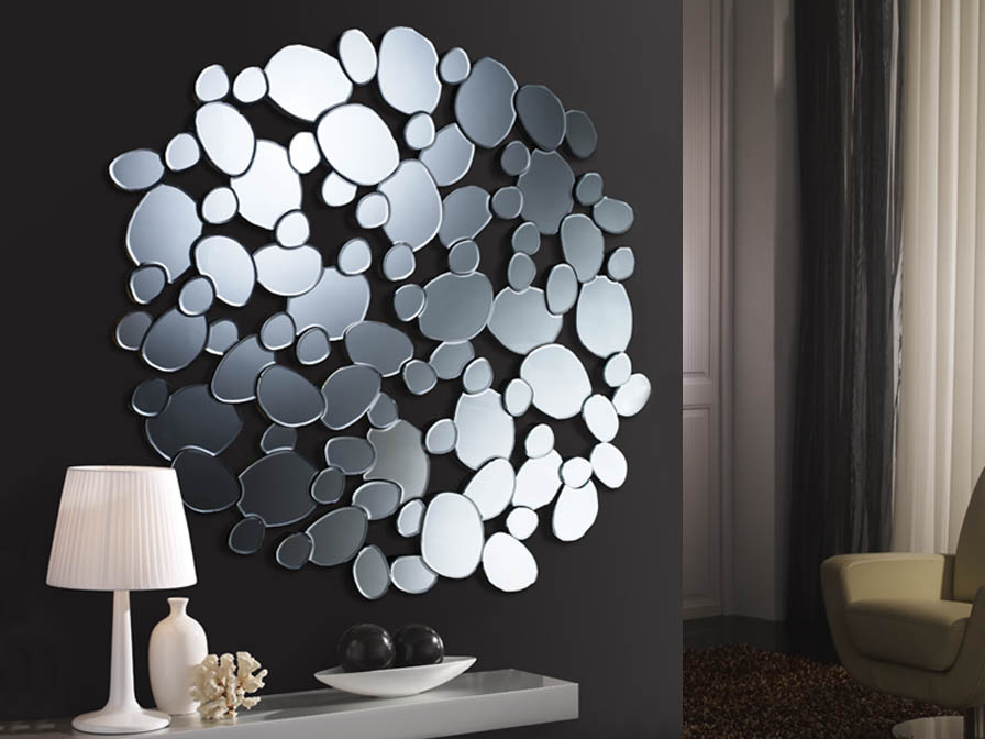 Espejo de cristal moderno - Villalba Interiorismo