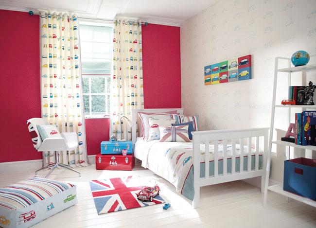 Habitación de niños con coches - Villalba Interiorismo