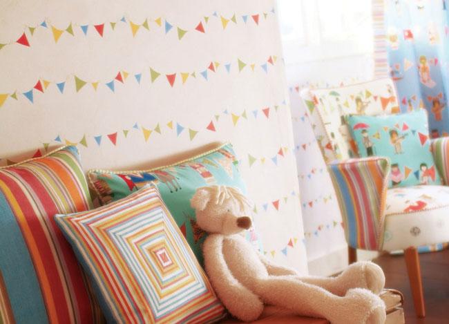 Papel pintado para habitaciones de niños - Villalba Interiorismo