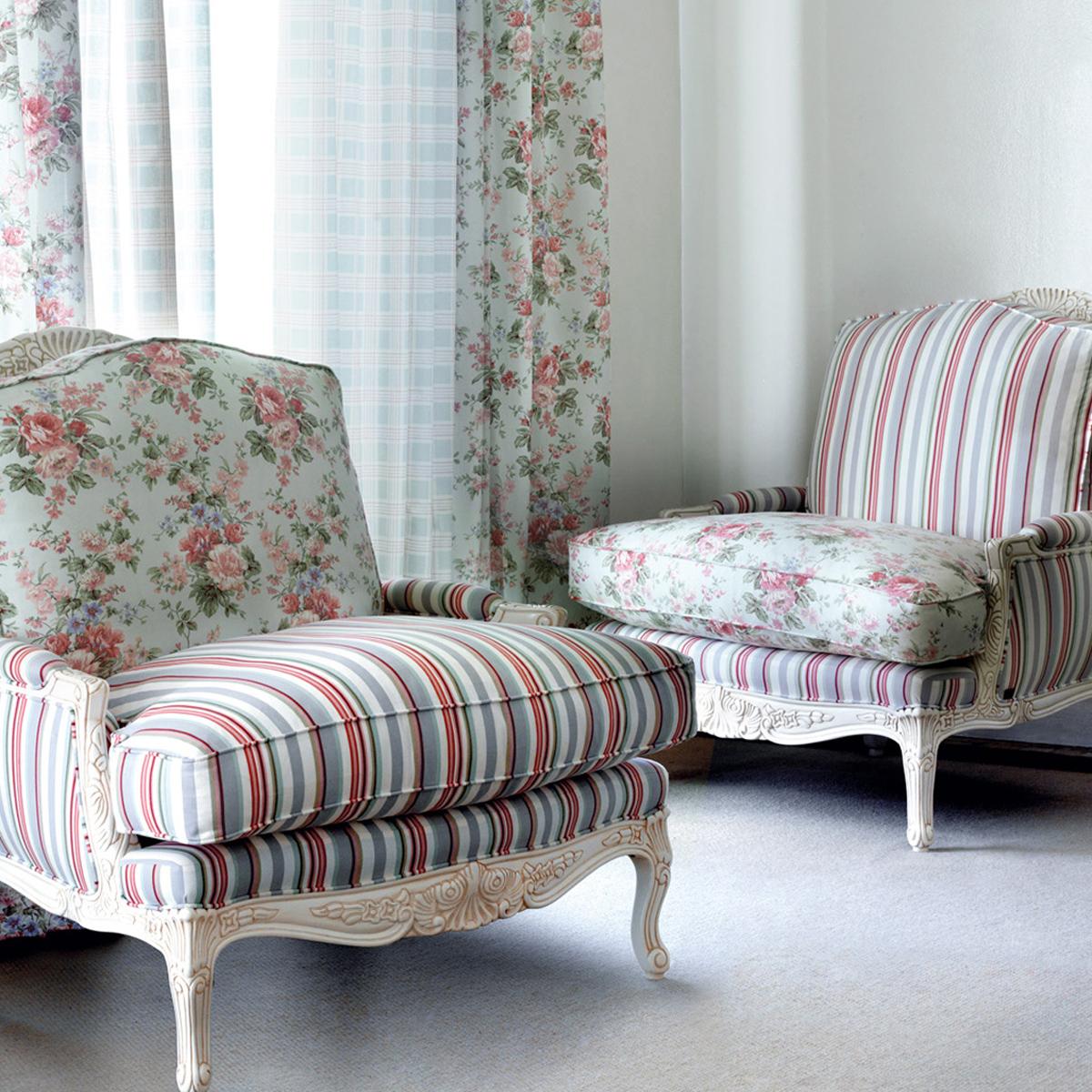 Tendencia estampados de flores en tu sal n villalba - Precios de tapizados de sillones ...