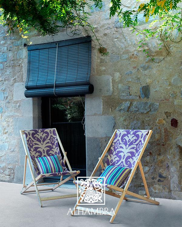 Telas del catálogo de Alhambra - Villalba Interiorismo