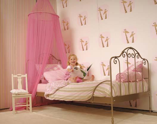 Camas con dosel para princesas villalba interiorismo - Cama princesa nina ...
