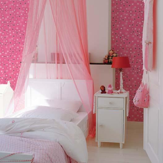 Camas con dosel para princesas villalba interiorismo - Dosel para cama nina ...