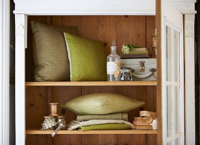 El color verde la naturaleza en casa villalba interiorismo - Villalba interiorismo ...
