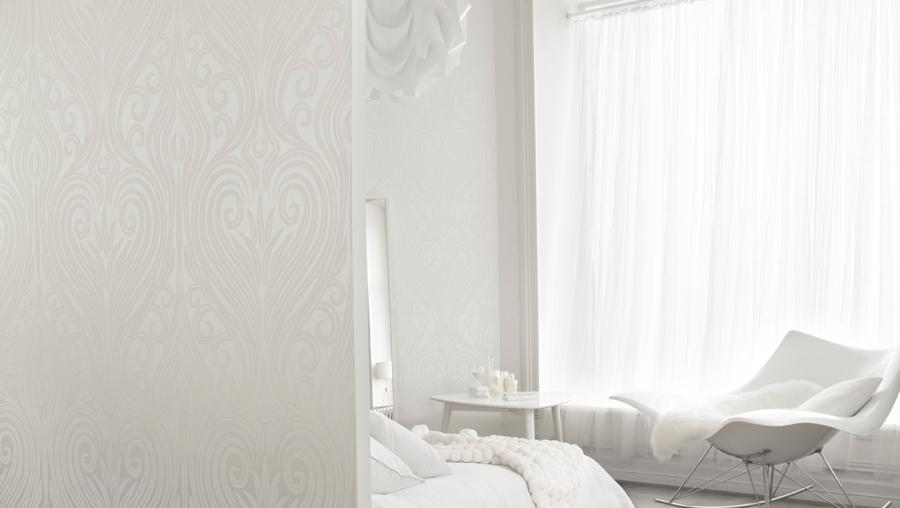 Dormitorio blanco impoluto - Villalba Interiorismo