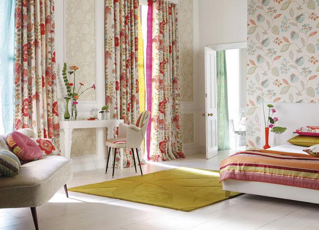 Habitación con color - Villalba Interiorismo