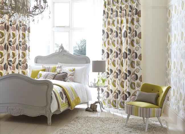 Habitación con detalles verdes - Villalba Interiorismo