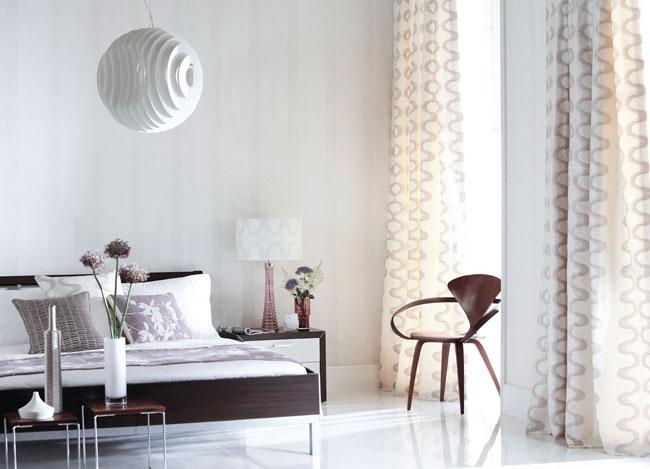 Habitaciones en blanco, gris y negro - Villalba Interiorismo